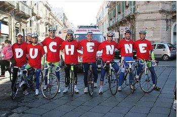Pedalata di solidarietà contro la Duchenne Becker
